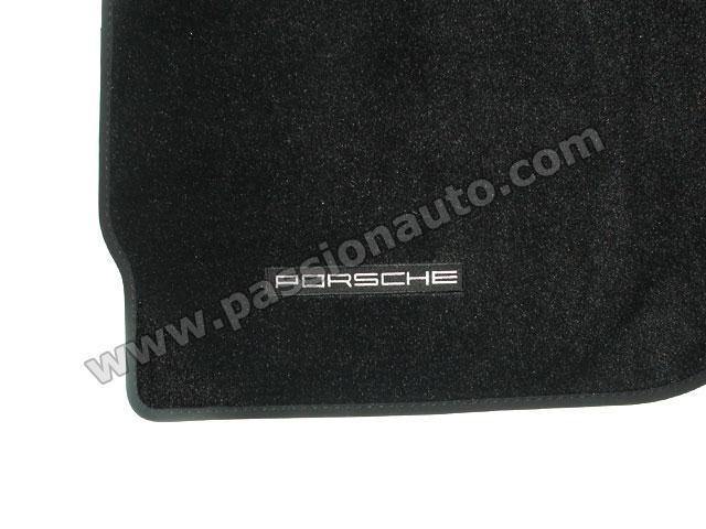 tapis de sol porsche noir 997 passionauto com passionauto com. Black Bedroom Furniture Sets. Home Design Ideas