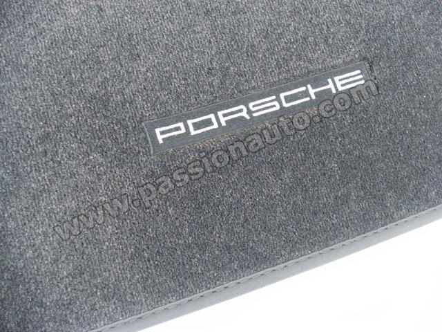 tapis de sol porsche noir 997 option bose sur targa cabriolet passionauto com. Black Bedroom Furniture Sets. Home Design Ideas