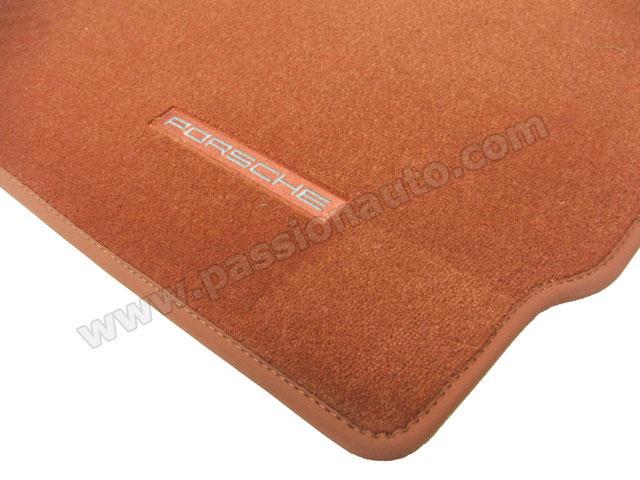 tapis de sol porsche terracotta 997 passionauto com passionauto com. Black Bedroom Furniture Sets. Home Design Ideas