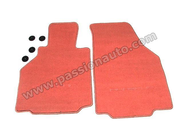 tapis de sol rouge boxster boxster 97 04 passionauto com passionauto com. Black Bedroom Furniture Sets. Home Design Ideas