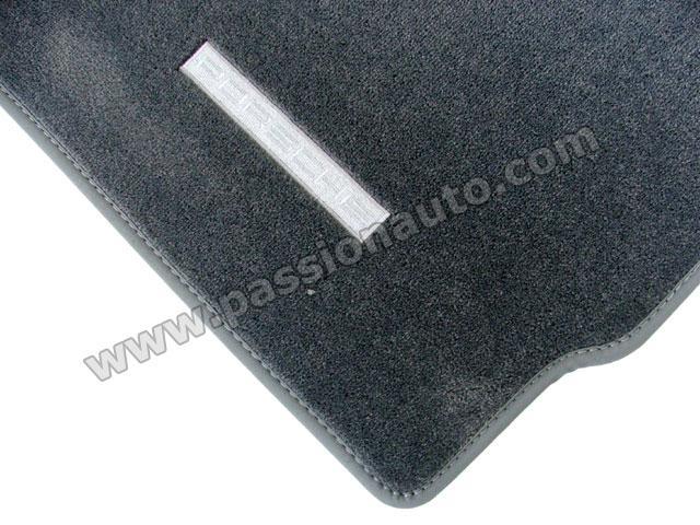 tapis de sol gris pierre boxster 987 cayman passionauto com passionauto com. Black Bedroom Furniture Sets. Home Design Ideas