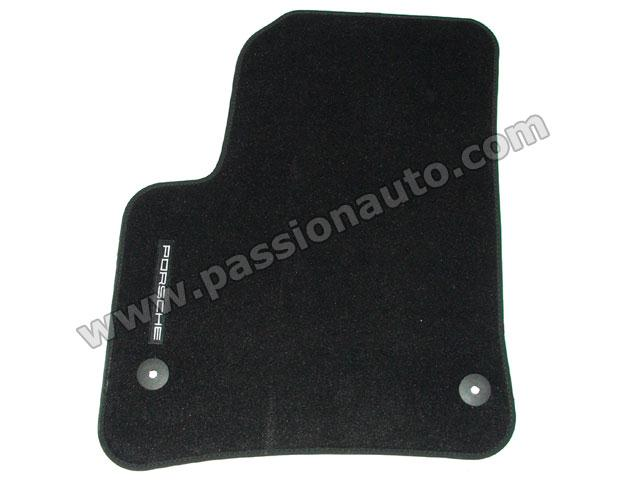 tapis de sol noir qualit fixations rondes cayenne 03 10 passionauto com. Black Bedroom Furniture Sets. Home Design Ideas