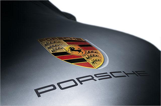 Housse ext rieur porsche gris logo panamera for Housse porsche 911