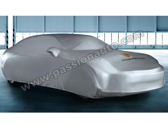 Housse int rieur porsche gris logo panamera for Housse voiture porsche
