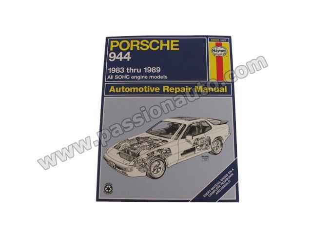 porsche 944 automotive repair manual passionauto com. Black Bedroom Furniture Sets. Home Design Ideas