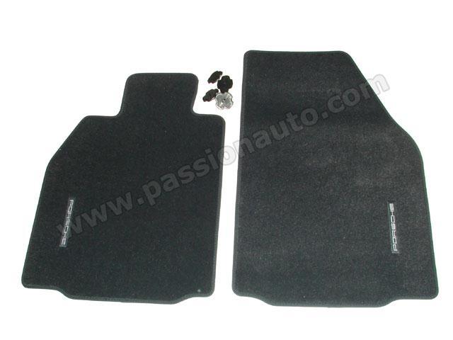 tapis de sol bleu de mer boxster 987 cayman passionauto com passionauto com. Black Bedroom Furniture Sets. Home Design Ideas