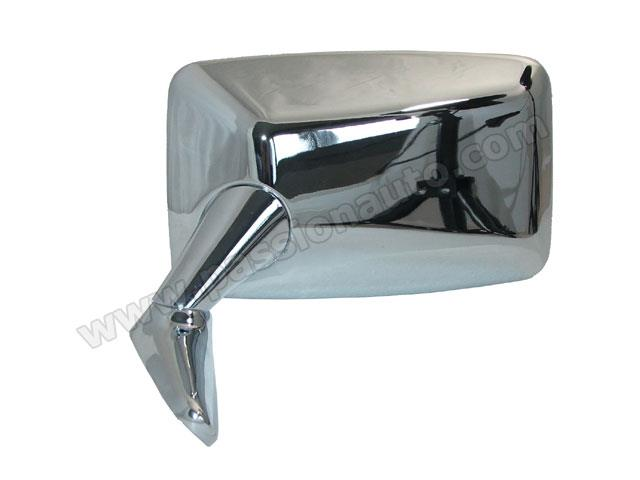 r troviseur ext rieur gauche rectangle chrome 911 74 75 porsche origine passionauto com. Black Bedroom Furniture Sets. Home Design Ideas