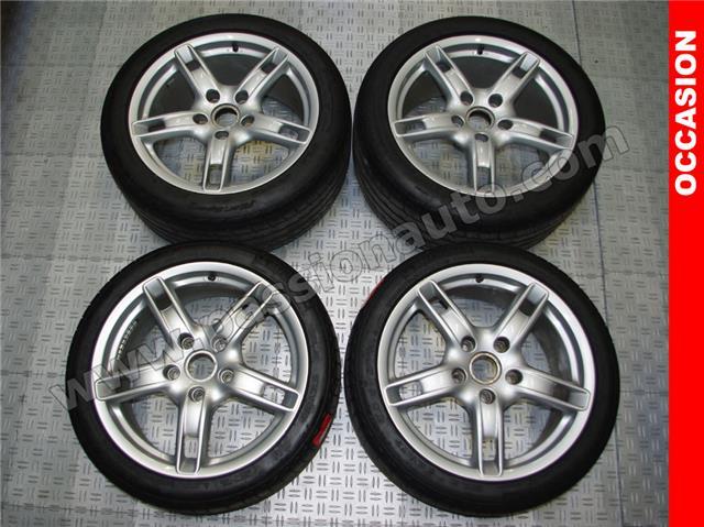 Michelin Pilot Sport >> OCCASION vendu / n°229 - 4 jantes 18p Boxster II + pneus - PASSIONAUTO.COM - PASSIONAUTO.COM