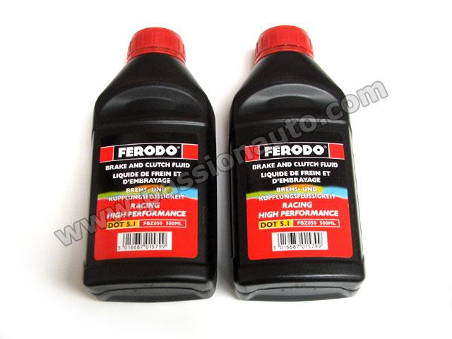 liquide de frein racing ferodo 1 litre passionauto com passionauto com. Black Bedroom Furniture Sets. Home Design Ideas