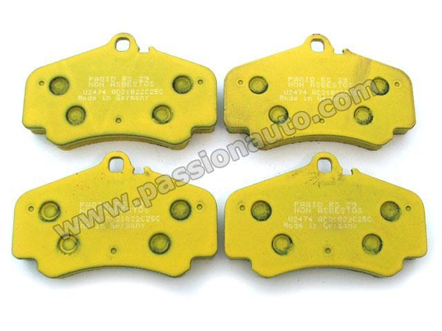 plaquettes av pagid jaune   996 gt3 ph1
