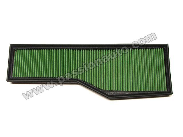 filtre air sport green 996 carrera 98 05 passionauto com passionauto com. Black Bedroom Furniture Sets. Home Design Ideas