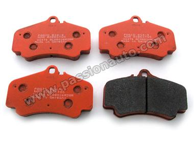 Plaquettes AV Pagid Orange # 996 GT3 ph1 / 996 biturbo / 996 4s