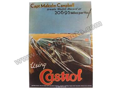 Castrol - Poster Record 206.95 miles