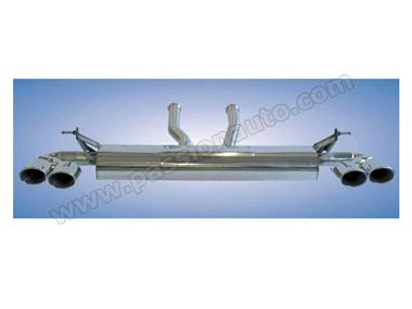 Cayenne 955 v6 03-06 Silencieux inox sport # CARGRAPHIC #