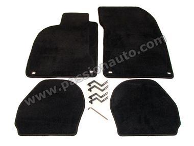 tapis de sol noir qualit 964 993 passionauto com passionauto com. Black Bedroom Furniture Sets. Home Design Ideas