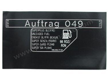 etiquette type de carburant 98 roz ron passionauto com passionauto com. Black Bedroom Furniture Sets. Home Design Ideas